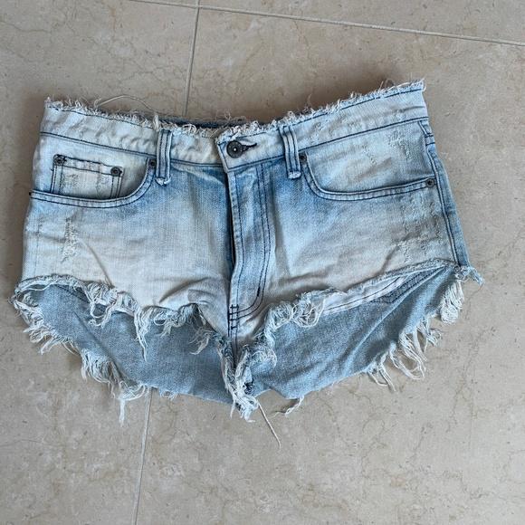 Carmar Pants - LF Carmar High Waist Jean Shorts
